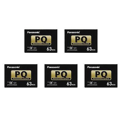5 Panasonic Xl1s Pro Xl2 Mini Dv Tape For Canon Xl1 Xh A1...