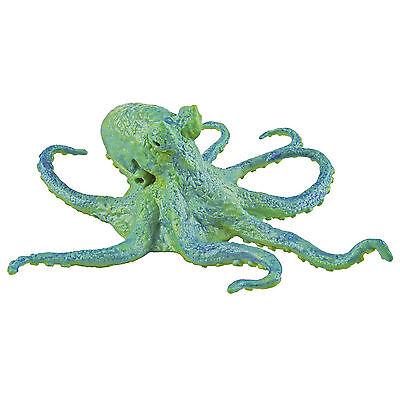 Octopus Green Sea Life Figure Safari Ltd New Toys Educational Figurine Creature