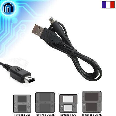 Cable Chargeur USB Sync pour Nintendo 3DS XL 3DSXL N3DS 2DS 2DSXL...