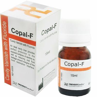 Dental Varnish Fluoride Varnish Copal F Cavity Prevest 15ml