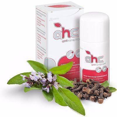 AHC forte Antitranspirant gegen Schwitzen und Schweiß 50ml kein Deo (AHC30)