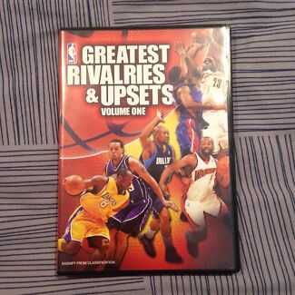 NBA Greatest Rivalries and Upsets Vol.1 DVD Berwick Casey Area Preview