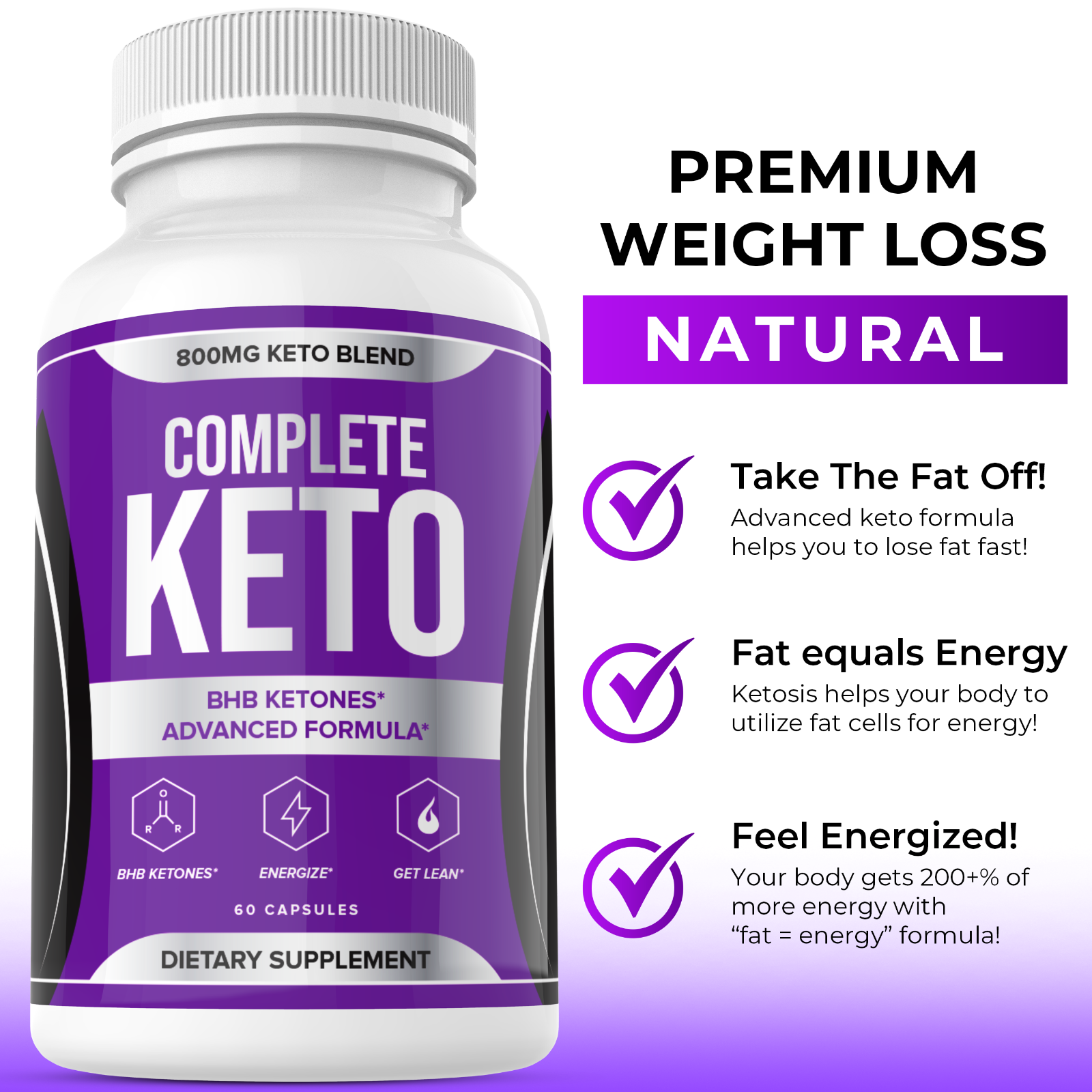 Complete Keto Pills Complete Ketogenic Diet for Beginners Advanced Weight Loss