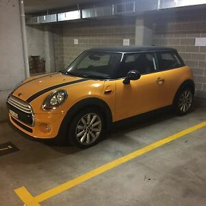 2014 Mini Hatch F56 Cooper Volcanic Orange 6 Speed Manual Neutral Bay North Sydney Area Preview