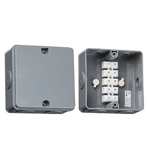 JB005 Outdoor Weatherproof Electrical 30 Amp Cable Connector Junction Box IP66