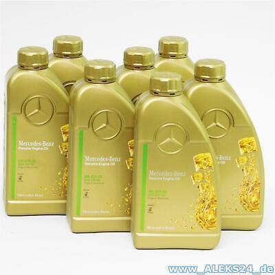 Orig. Mercedes Synthetic Motoröl Ölservice 5W30 MB 229.52 A000989950211 7 Liter
