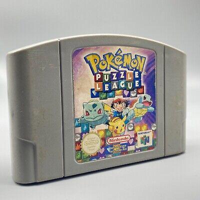Jeu - Pokemon Puzzle League - Nintendo - PAL - N64 - Nintendo 64 (ML)