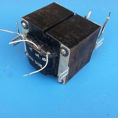 High Voltage Powersignal Transformer 200-021b Pri120240v Sec260v2500v 23