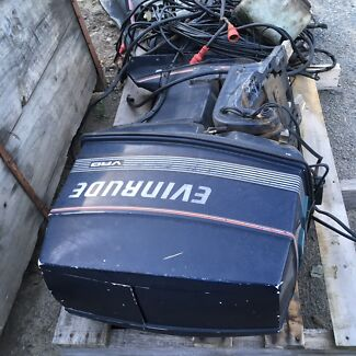 Evenruide 70 hp long shaft ptt outboards x2 $1100 each