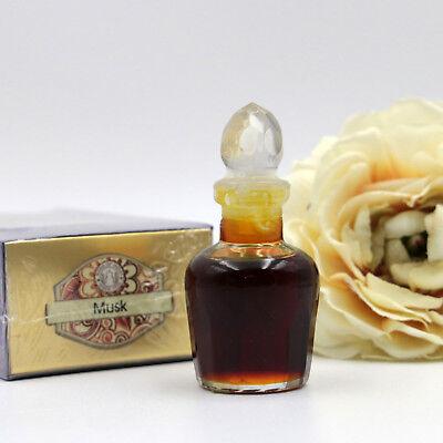 Moschus Duft (Musk Duftöl 10ml natürliches Duftöl im Glasflakon Moschus Indien Hippie Goa t10)