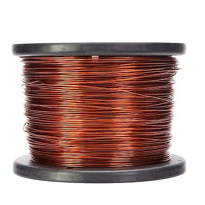 16 Awg Gauge Enameled Copper Magnet Wire 5.0 Lbs 626 Length 0.0535 200c Nat