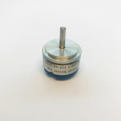 Bourns 2k Precision Potentiometer Linear 0.5 Continuous Turn 6538s-48-202