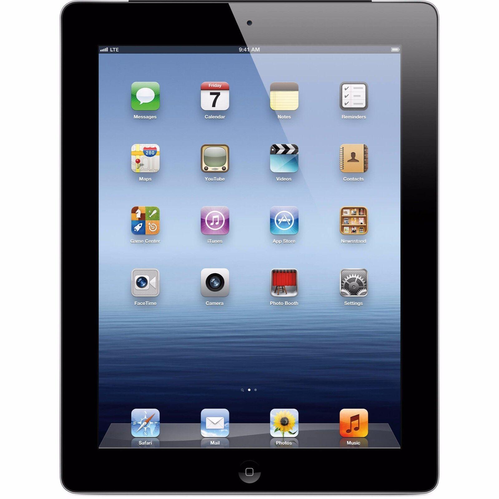 Apple iPad 2 32GB, Wi-Fi + 3G AT&T (Unlocked), 9.7in - Black (R-D)
