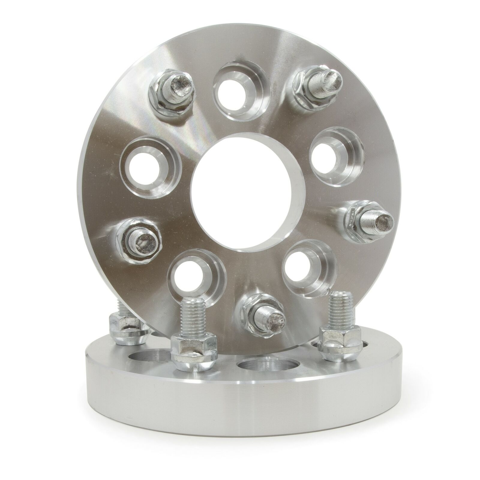 """4 JEEP WHEEL SPACERS ADAPTERS5X4.51/"""" INCH THICK25MM1//2/""""x20 LUGNUTS"""