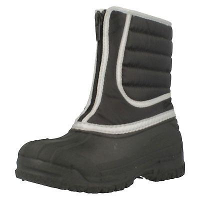 Clarks' neige randonnée' Noir pour garçons Bottes de neige