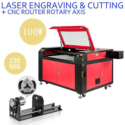 100w Laser Engraver Machine Rotary Axis Co2 Laser Engraving Machine 900600mm