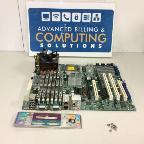 SUPERMICRO X7DAL-E + REV 1.0 Motherboard w/ I/O, 24GB RAM, 1x Xeon X5460 & HS