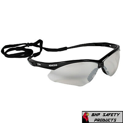 Jackson Nemesis Safety Glasses Indooroutdoor Lens Black Io 25685 Z87 1 Pair