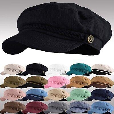 Mens Women Mariner Sailor Cotton Greek Fisherman Hat - Womens Sailor Hats