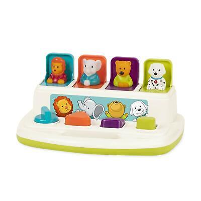 Battat � Pop-Up Pals � Color Sorting Animal Push & Pop Up Toy for Kids 18 Months