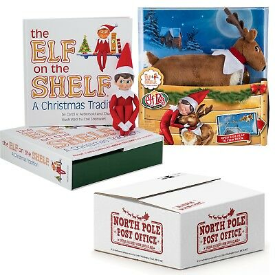 The Elf on the Shelf®  Boy Scout Elf with Elf Pets Reindeer