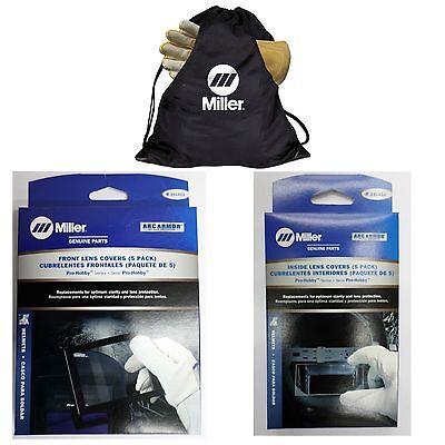 Miller Pro Hobby Series Cover Lens Pkg Whelmet Bag 231411 231410
