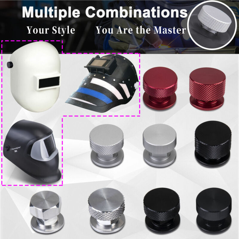 Welding Hood Pipeliner Fasteners (Multi-style For You to Choose)