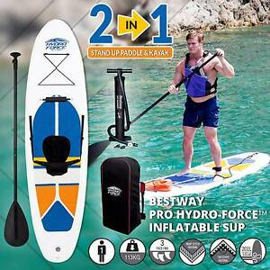 Inflatable SUP - Stand Up Paddle Board - Free Delivery - 3M Kayak Melbourne CBD Melbourne City Preview