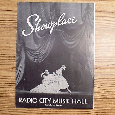 Showplace Radio City Music Hall Rockefeller Center Program Bing Crosby 1946