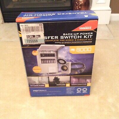 Reliance Controls Protran 2-30amp 120240 6-circuit Transfer Switch.ul Listed