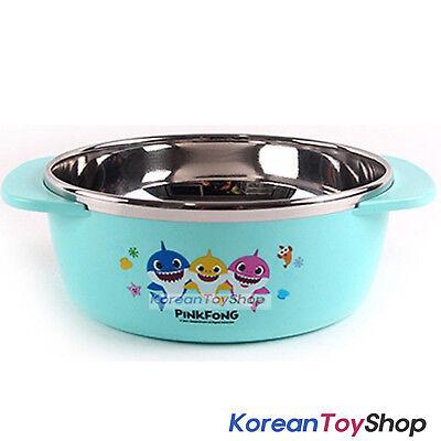 PINKFONG Stainless Steel Bowl Handle Non-slip BPA Free Original