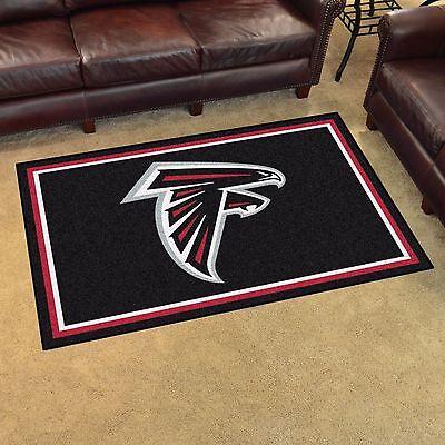Atlanta Falcons 4' X 6' Decorative Ultra Plush Carpet Area Rug