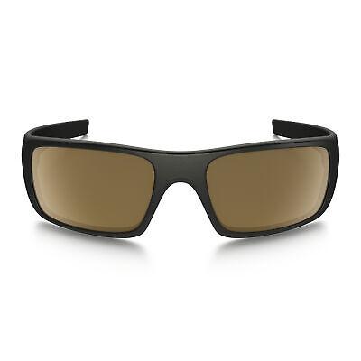 Brand New Men's Oakley Crankshaft Matte Black / Dark Bronze Sunglasses (New Oakleys)