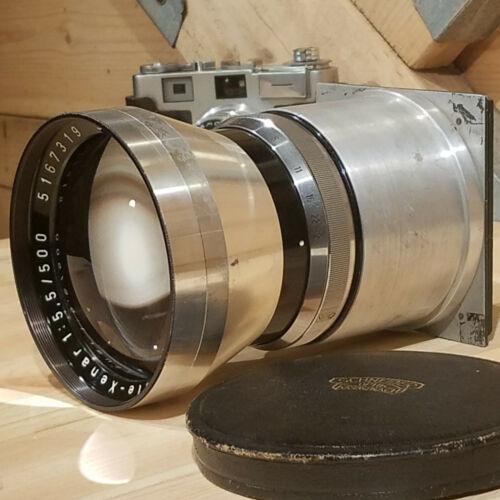 Schneider - Kreuznach Tele - Xenar F5.5 500mm Camera Lens - Swanky Barn