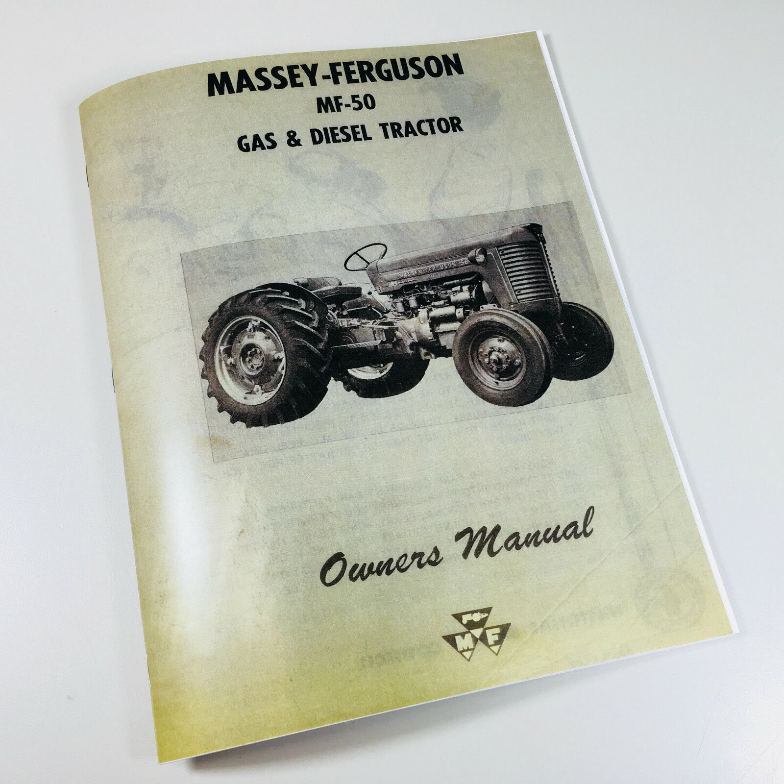 New reprint manual ~ 51 pages