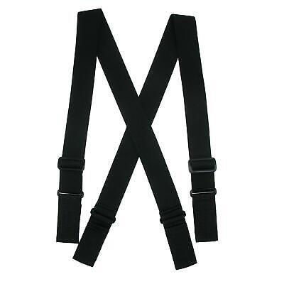 New CTM Men's Big & Tall Elastic Ergonomic Support Suspender