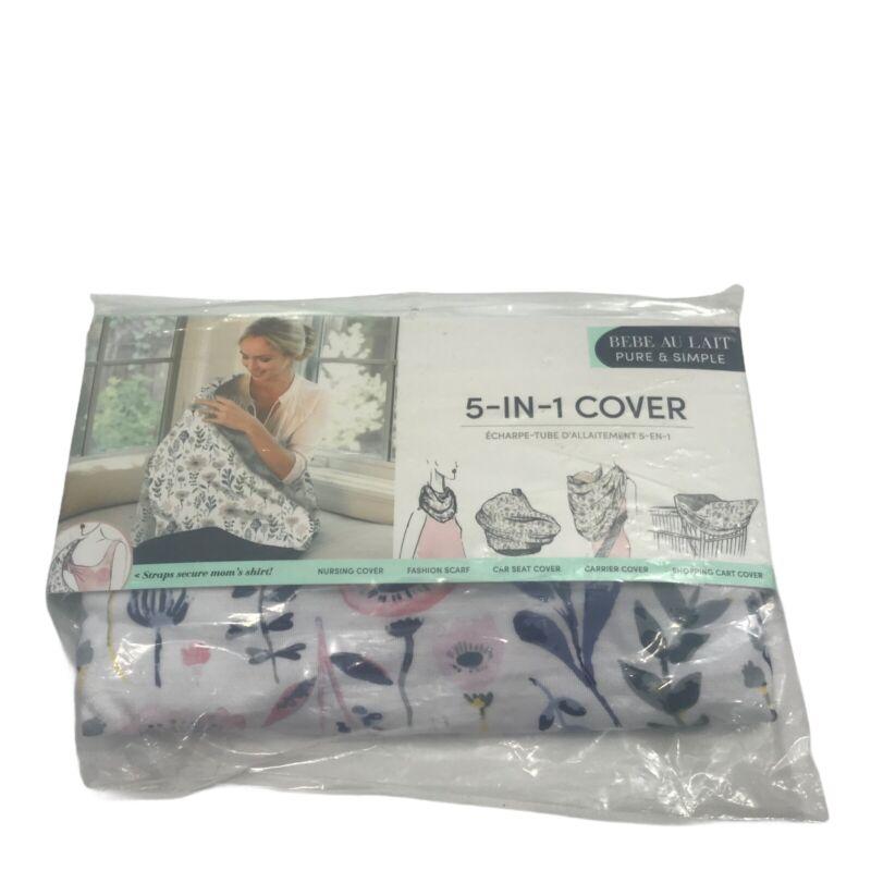 Bebe Au Lait 5 In 1 Baby Nursing Cover Infinity Floral Design