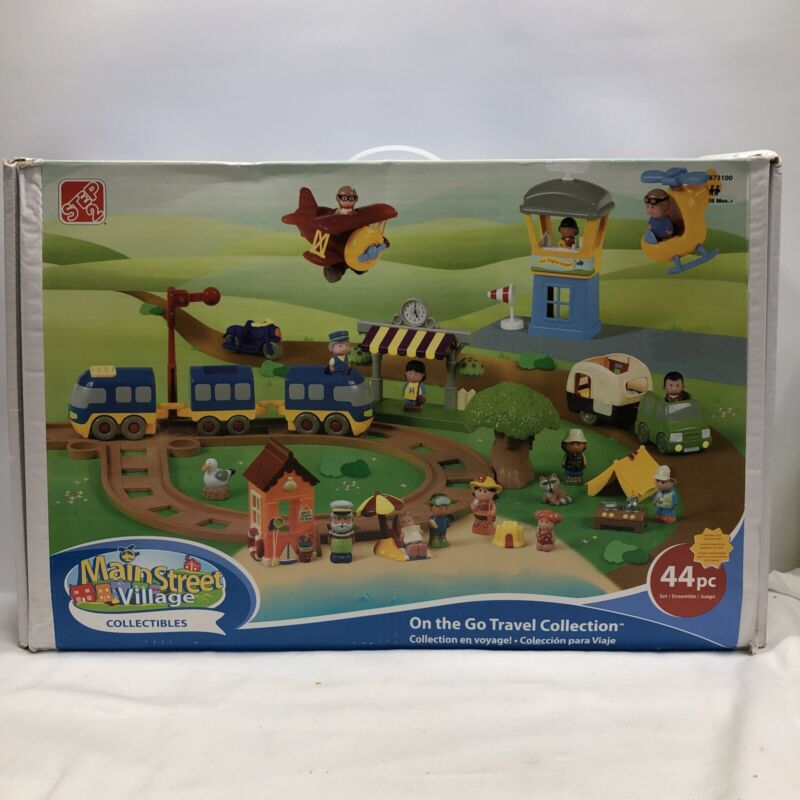 Main Street Village Collectables by Step 2, On The Go Travel Collection, RARE