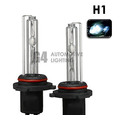 2X NEW HID XENON H1 Headlight Replacement Bulbs AC 35W 6000K Crystal White
