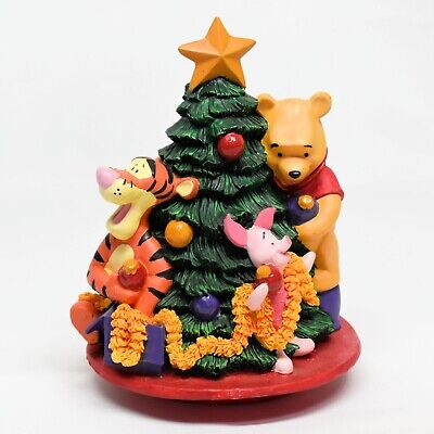 Disney Winnie the Pooh Tigger Piglet FTD Christmas Tree Figure Cake Topper