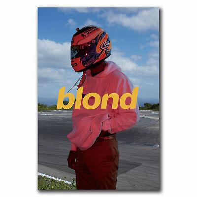Frank Ocean Blond Rap Music Star Rapper Poster Hot Gift No Frame