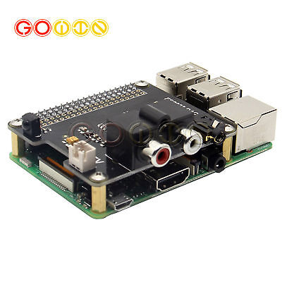 Pcm5122 X920 Hifi Dac Audio Expansion Board For Raspberry Pi 32bba