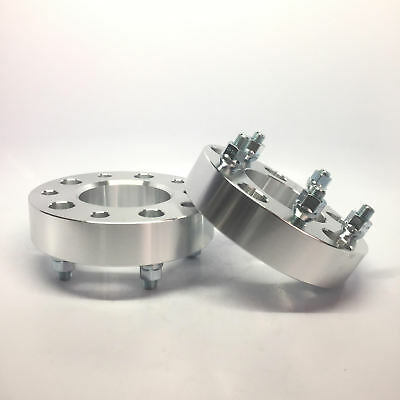 2X Custom Wheel Spacers Adapters | 5x5.5 To 5x5.5 (5X139.7) 2 Inch | 9/16 Studs