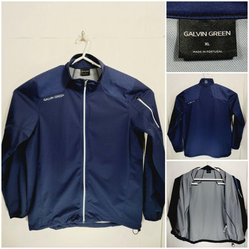 Galvin Green Interface-1 Mens XL Jacket Full Zip Long Sleeve Blue IFS-1