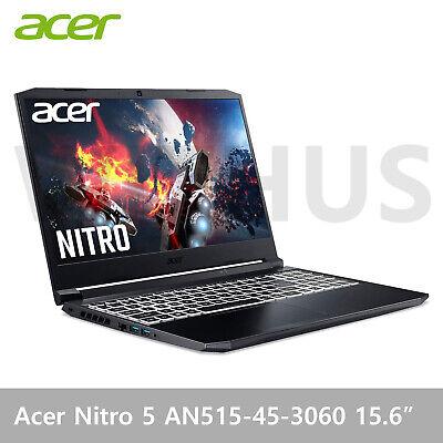 """Acer Nitro 5 AN515-45 15.6"""" FHD RTX3060 6GB Ryzen 7 5800H 8GB/256GB -Tracking"""