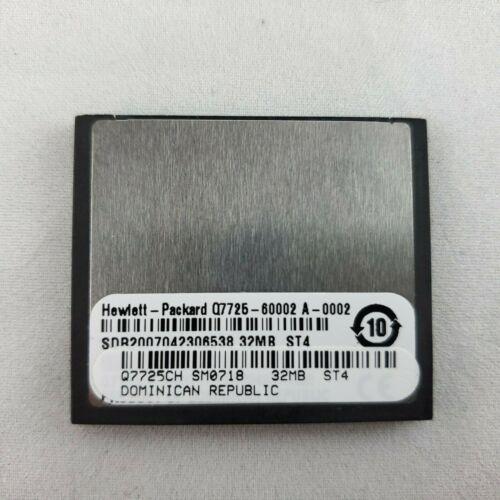 HP Q7725CH / Q7725-60002 Compact Flash CF 32MB Firmware for LaserJet 9040 9050