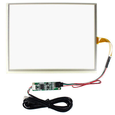 10.4 Touch Panel With Usb Controller Card For 10.4inch 1024x768 Lcd Screen