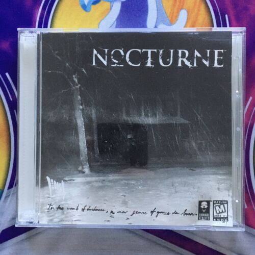 Computer Games - Nocturne (PC, 1999) Computer Game