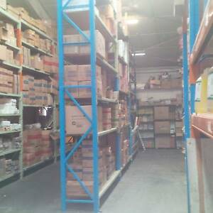 Used racking shelving storage shelves beams + timber inserts Armidale Armidale City Preview