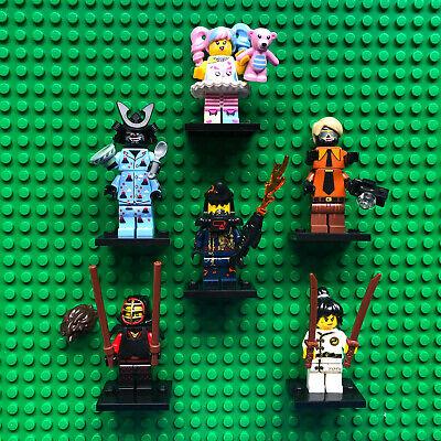 Lego Lot NINJAGO MOVIE MINIFIGURES 71019 N-POP Girl Shark Army Nya Garmadon